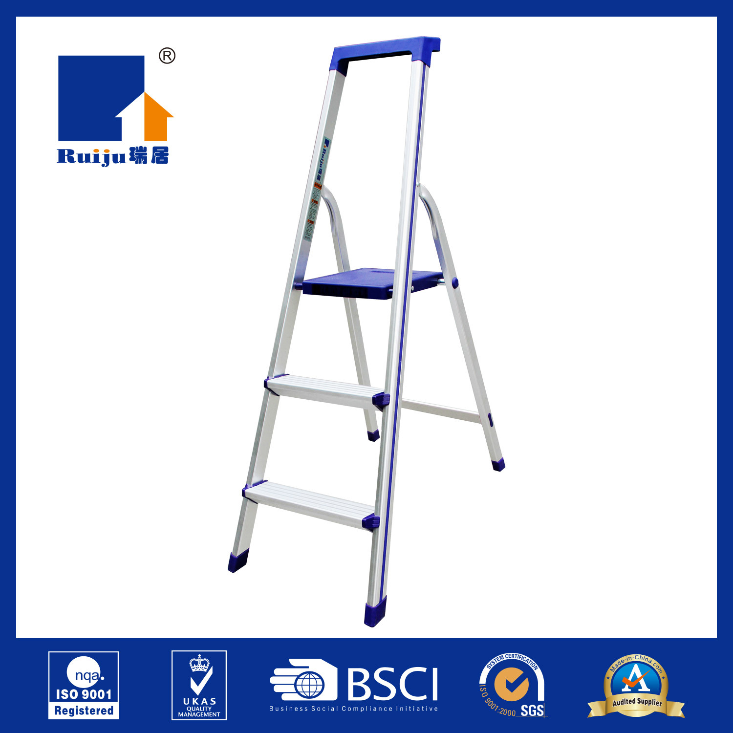 Professional Aluminum Ladder for Decoration