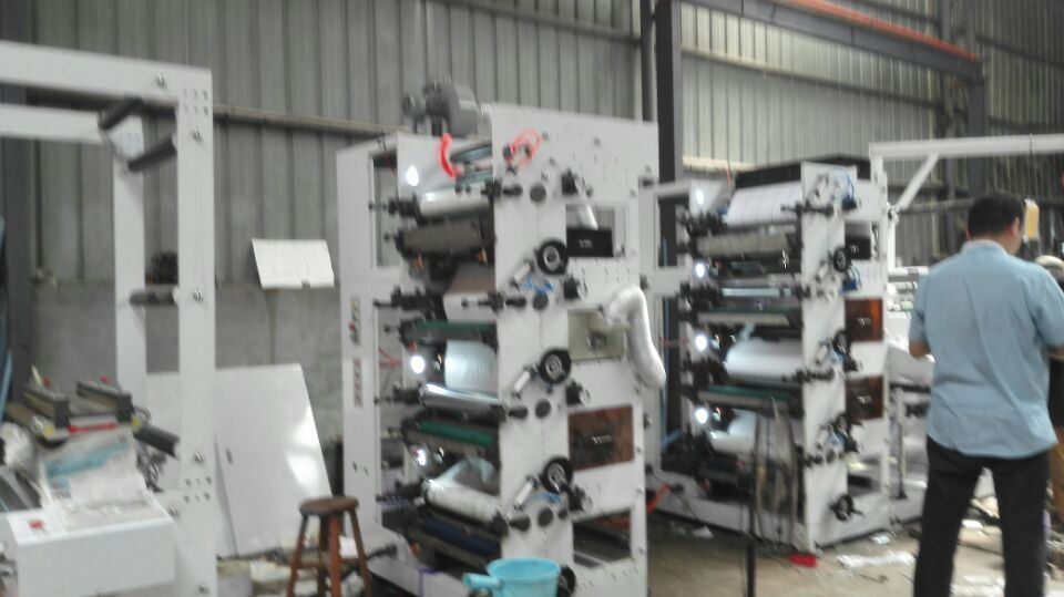 8 Color Flexography Printing Machine