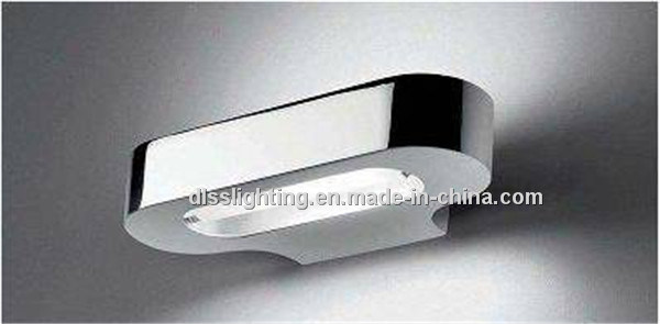 Modern Italian Design Aluminum and Acrylic Wall Lamp