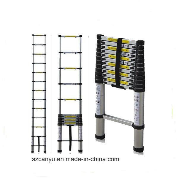 2.6m/3.2m/3.8m En131-6 Telescopic Ladder, Aluminum Step Ladder, Ladder Aluminum