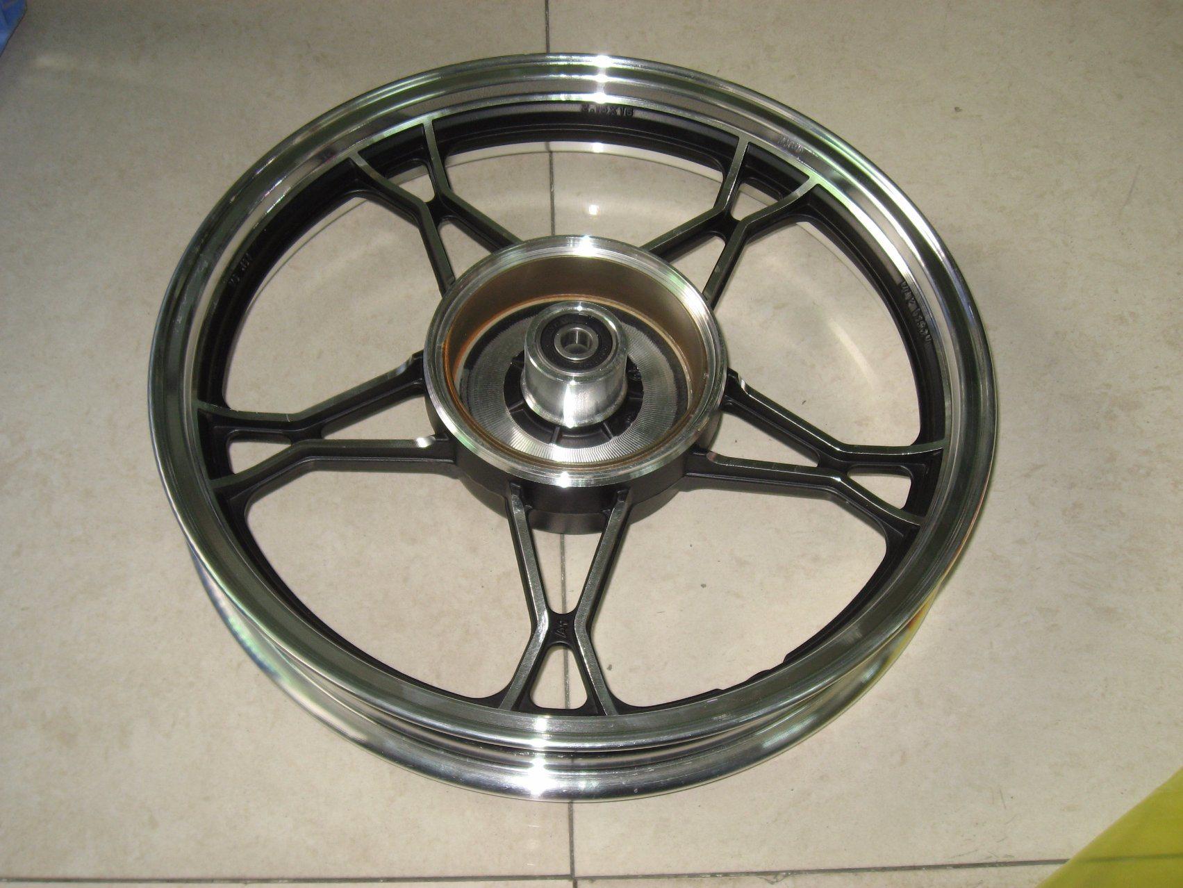 Yog Motorcycle Parts Motorcycle Rear Alloy Wheel Rim Gn125h/2.15-16