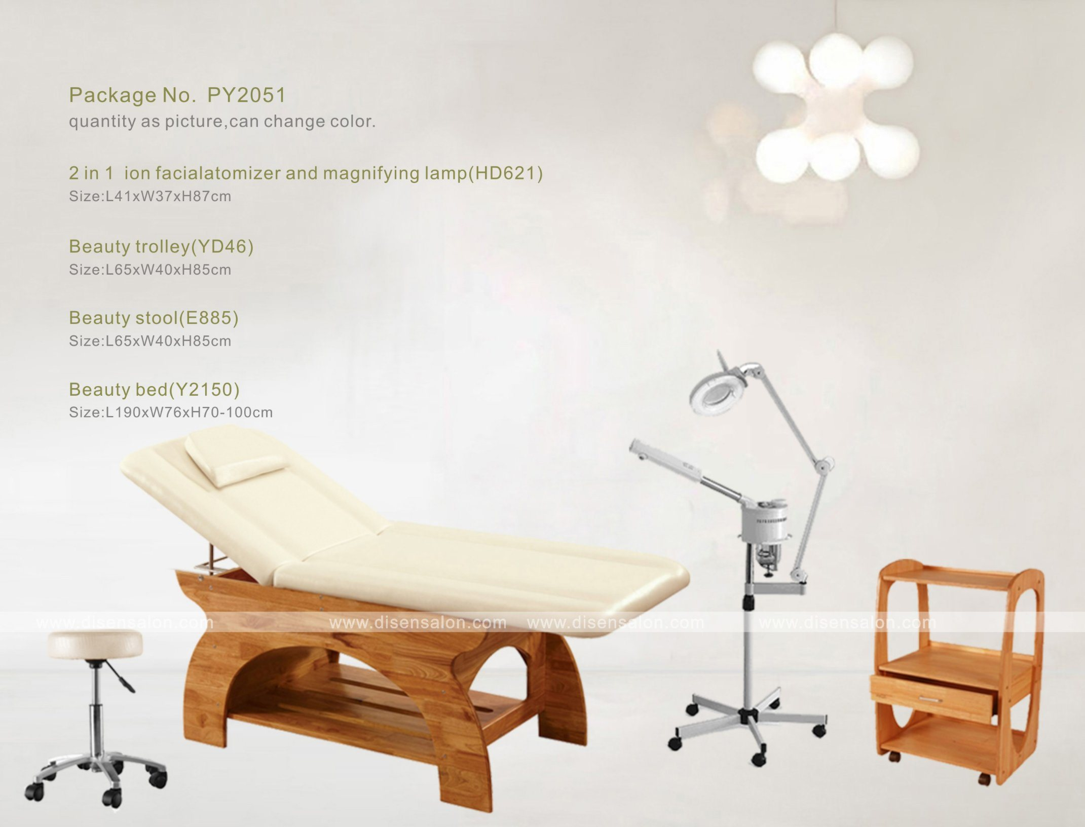 Massage Beauty Bed (Y2150)