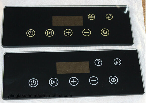 Luxurious Black Crystal Glass Switch Touch Panel