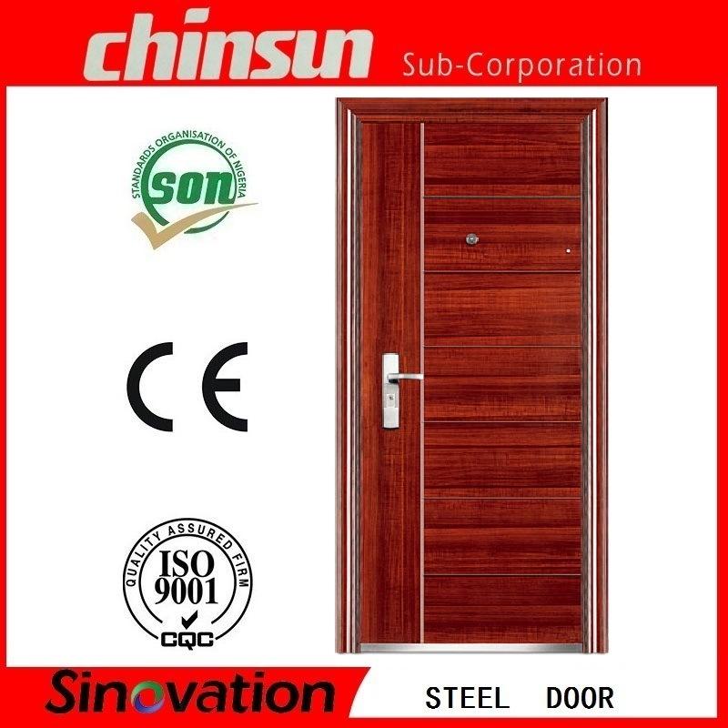 Professional Steel Security Door with Ce Certificate