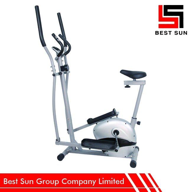 Fitness Exercise Cross Trainer, Gym Magnetic Elliptical Bike