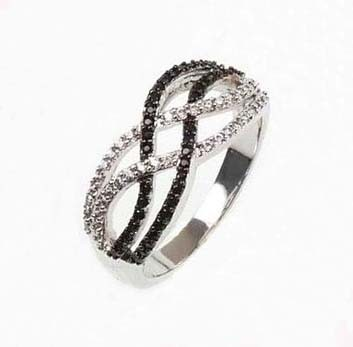 925 Steling Silver Jewelry Ring, Lead and Nickel Free (KR3084)