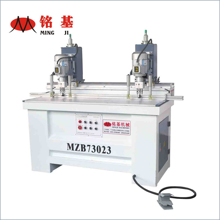 Double Heads Woodworking Hinge Drilling Machinery for Cabinets