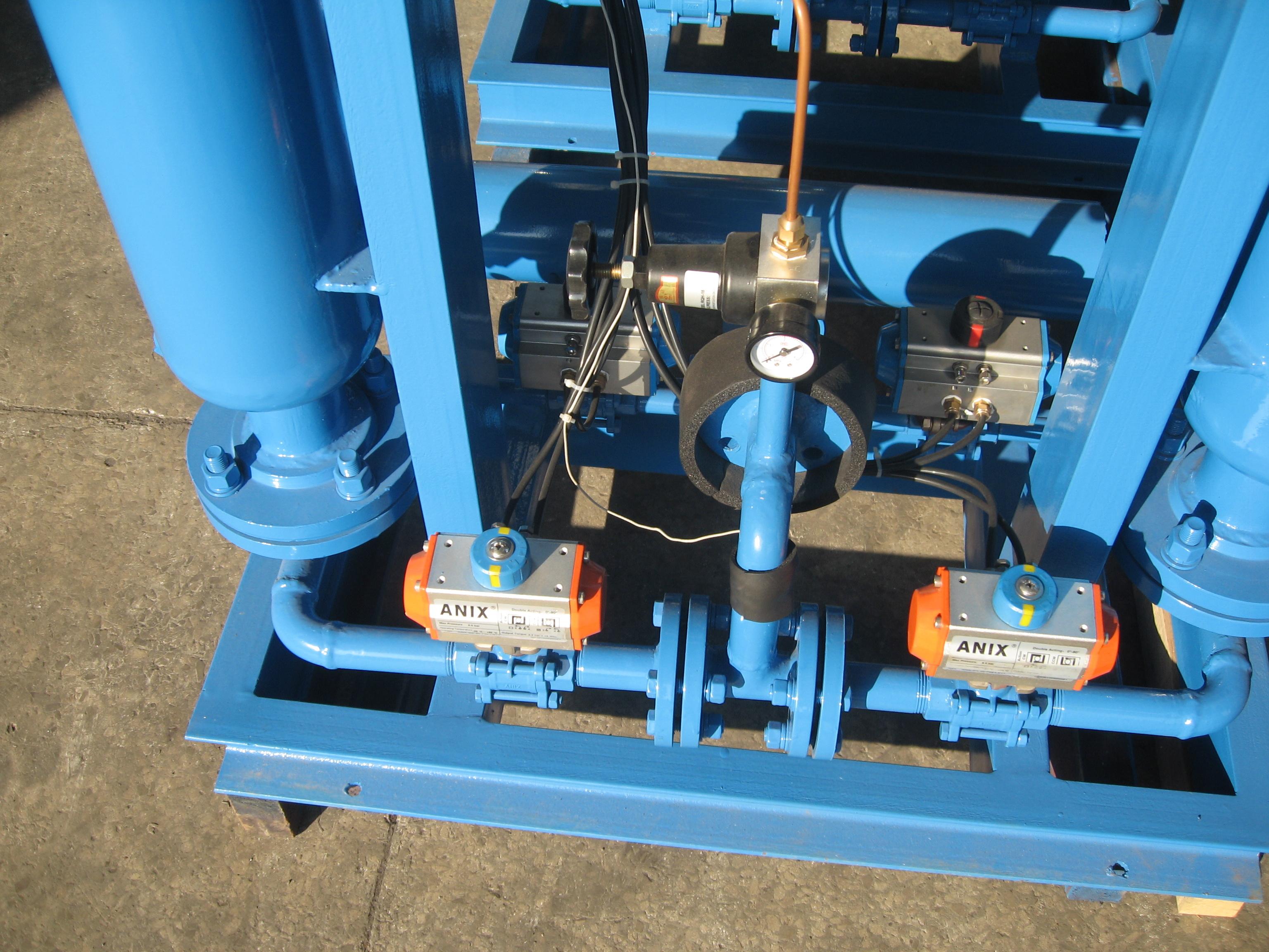 Zero Purge Heated Regenerative Desiccant Air Compressed Dryer (KRD-1MXF)
