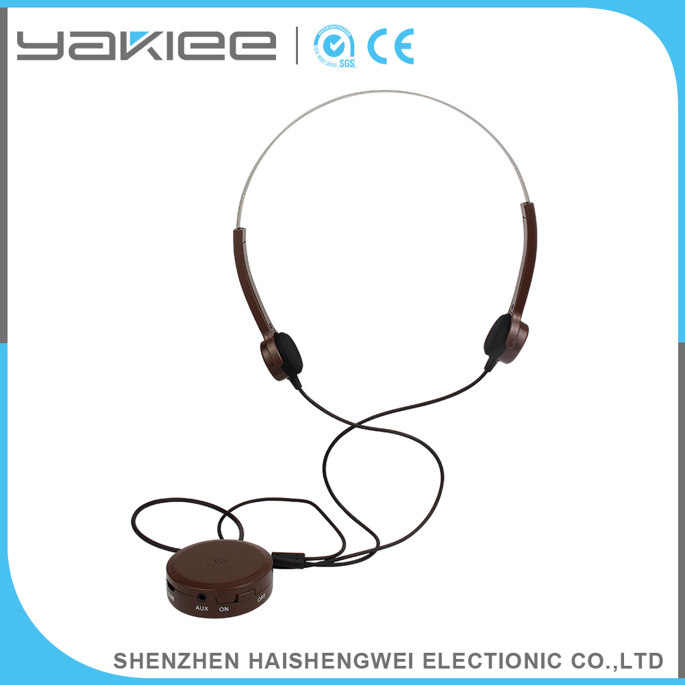 3.7V 350mAh Customized Bone Conduction Hearing Aids Wired Headphone