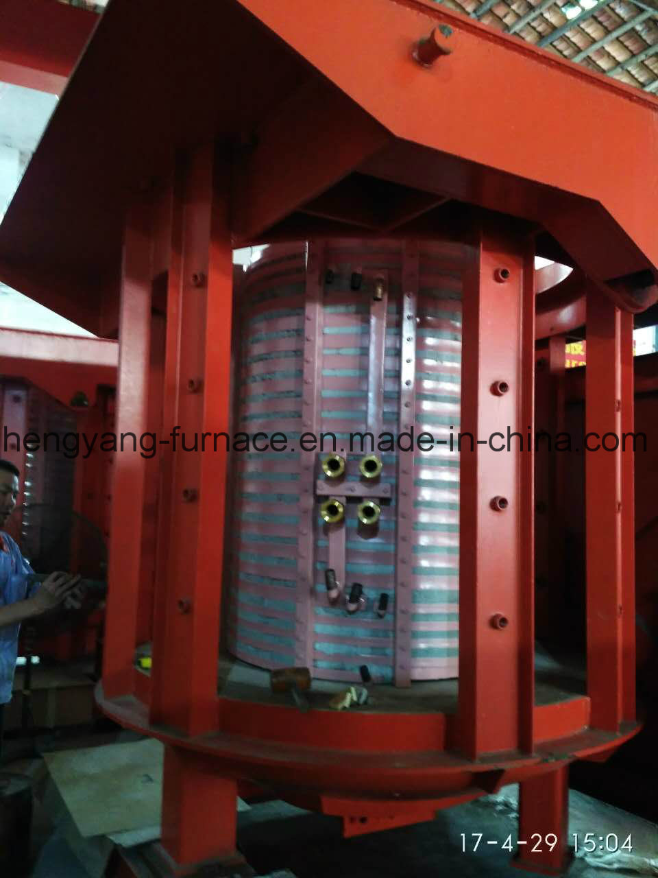 50kg to 30t Coreless Medium Frequency Induction Melting Furnace for Melting Aluminum Copper Gold Silver