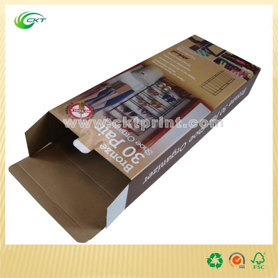Custom Corrugated Box with Cmyk Printing with Glossy Lamination (CKT-CB-1011)