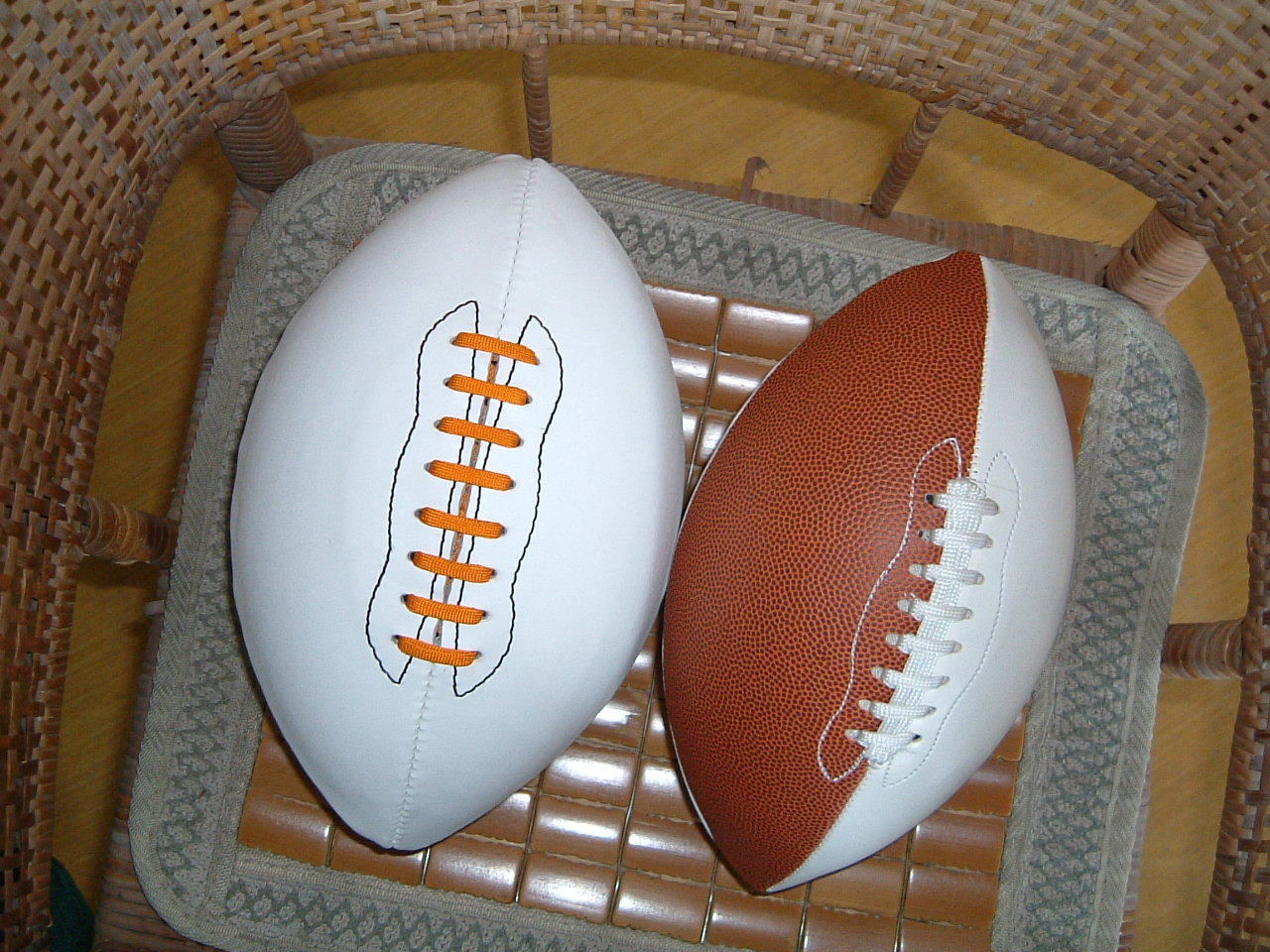 9# PVC Machine Stitching American Football