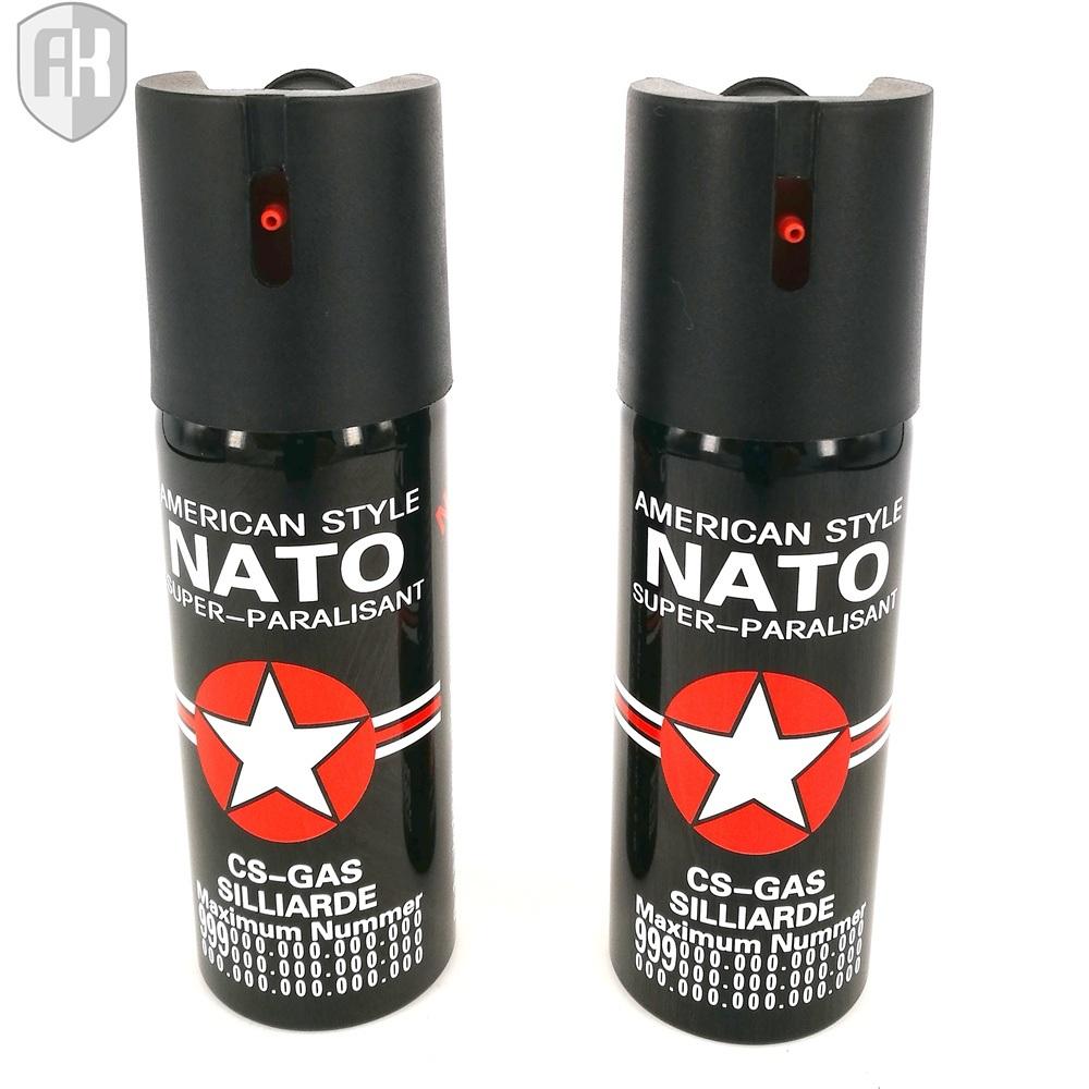 Colorful New Style 60ml Self-Defense Pepper Spray Nato