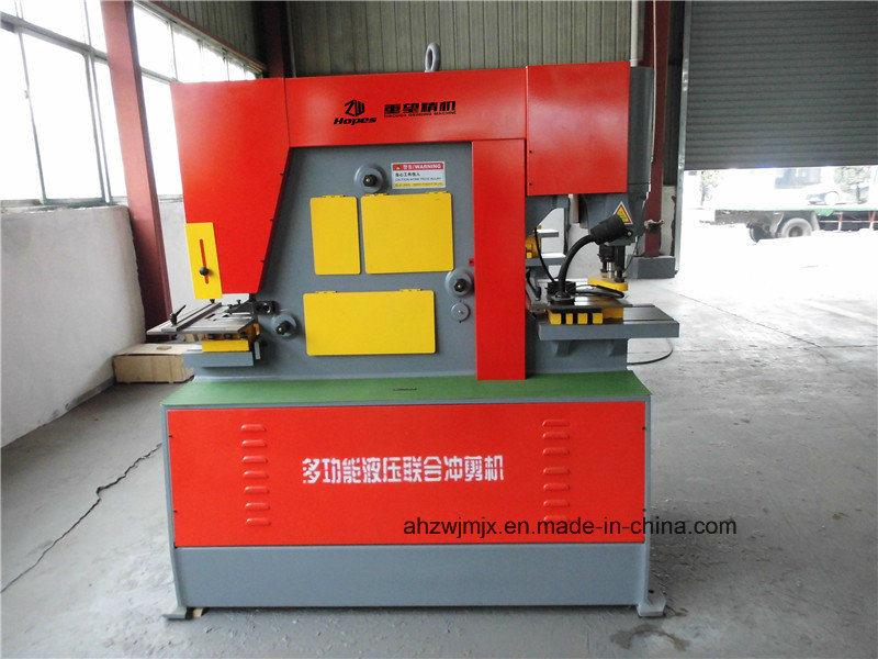 Q35y Series Hydraulic Combined Punching & Shearing Machine