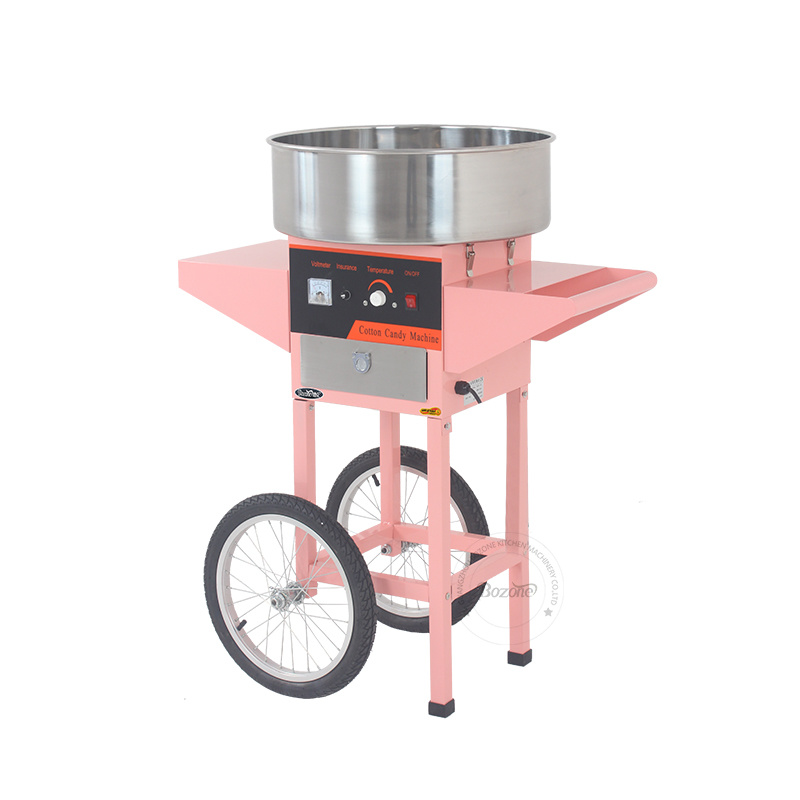New Electric Cotton Candy Floss Machine for Sale Ec-07