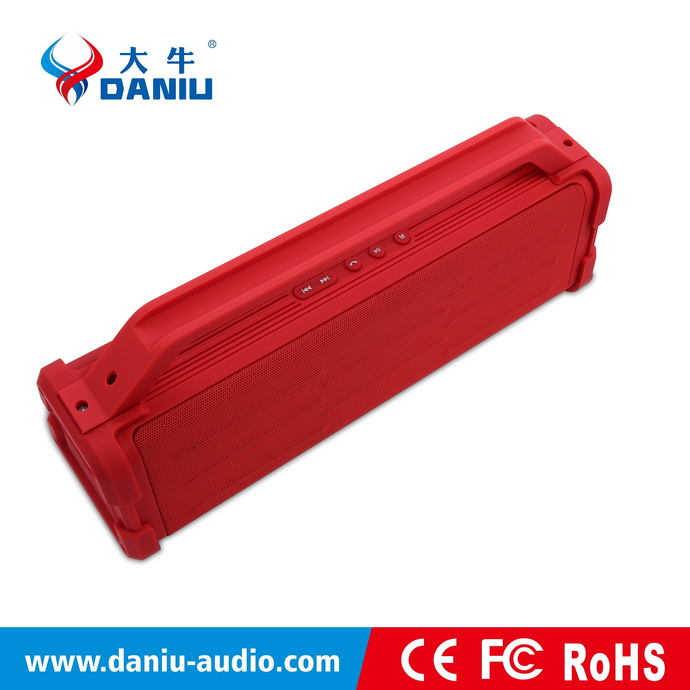 2.1CH Subwoofer High Quality Bluetooth Speaker with FM/TF/Aux/U-Disk/Hands Free/Bluetooth Connection