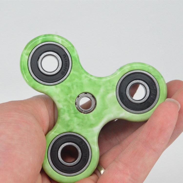 Finger Spinning Top Gyro Spinner Hand Red Fidget Fingertip Adult Desk Toy Fidget