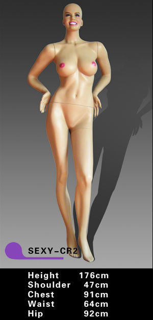 Sexy Female Mannequin (SEXY-CR2)