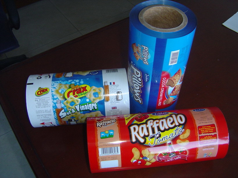 Metalized Laminating Film for Chocolate, Biscuit Packaging