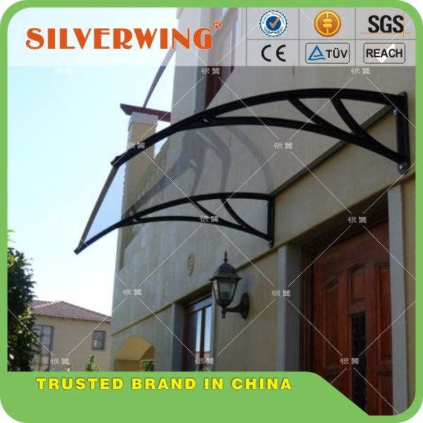 High Quality DIY Polycarbonate/PC Window Awning/Front Door Canopy