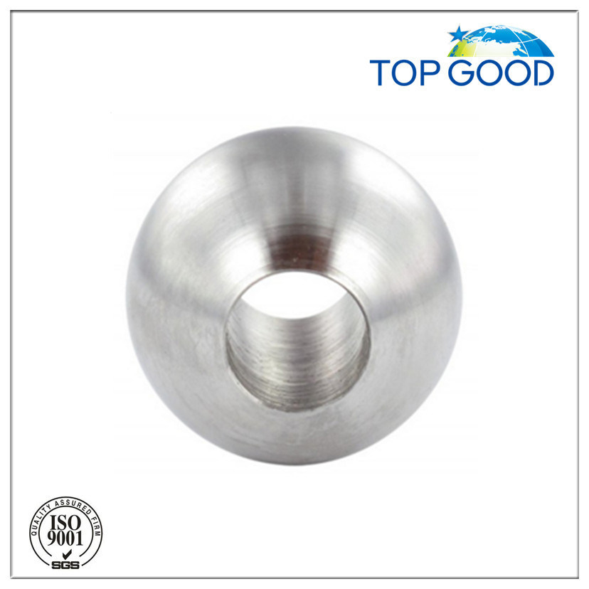 Stainless Steel Solid Ball with Through Hole