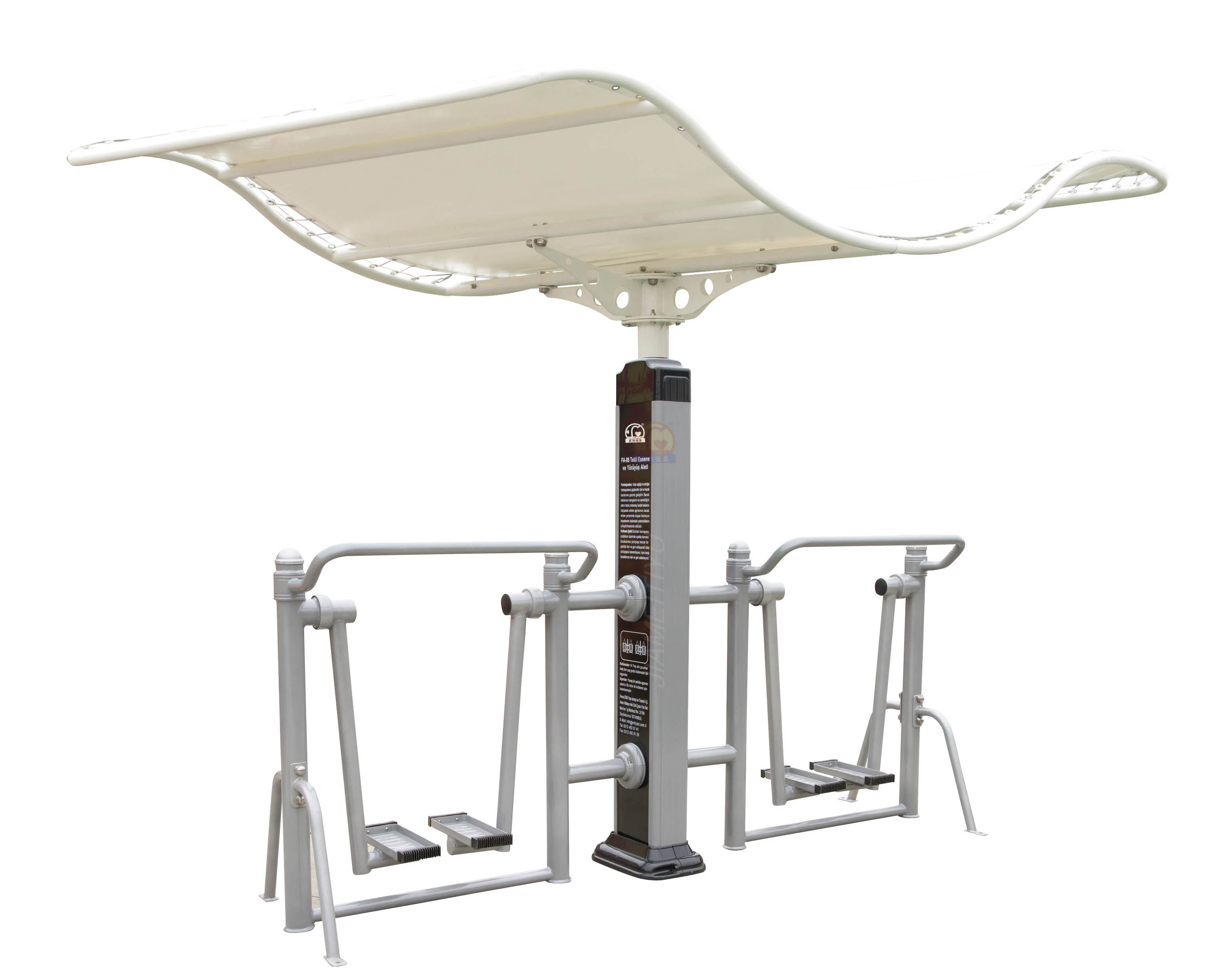 Nscc-Elliptical Air Walker Outdoor Fitness Equipment with Roof (JMA-08XO)