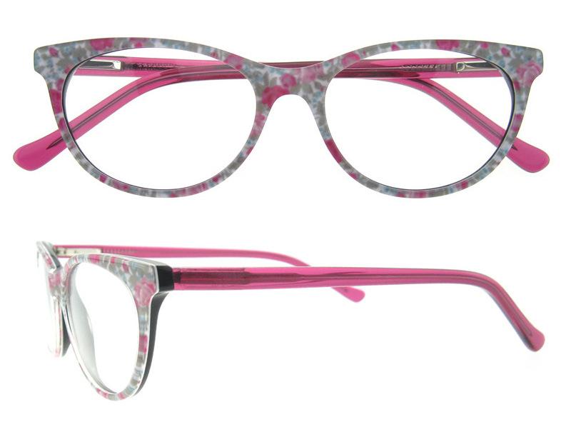Wholesale Eyewear Frame Fashion Eyeglass Optical Frame with Ce and FDA