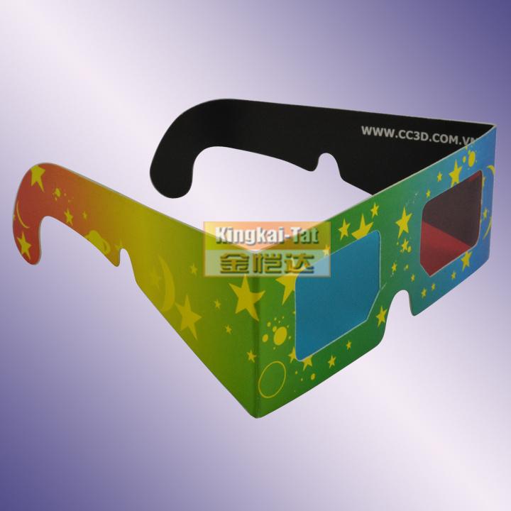 3d glasses paper