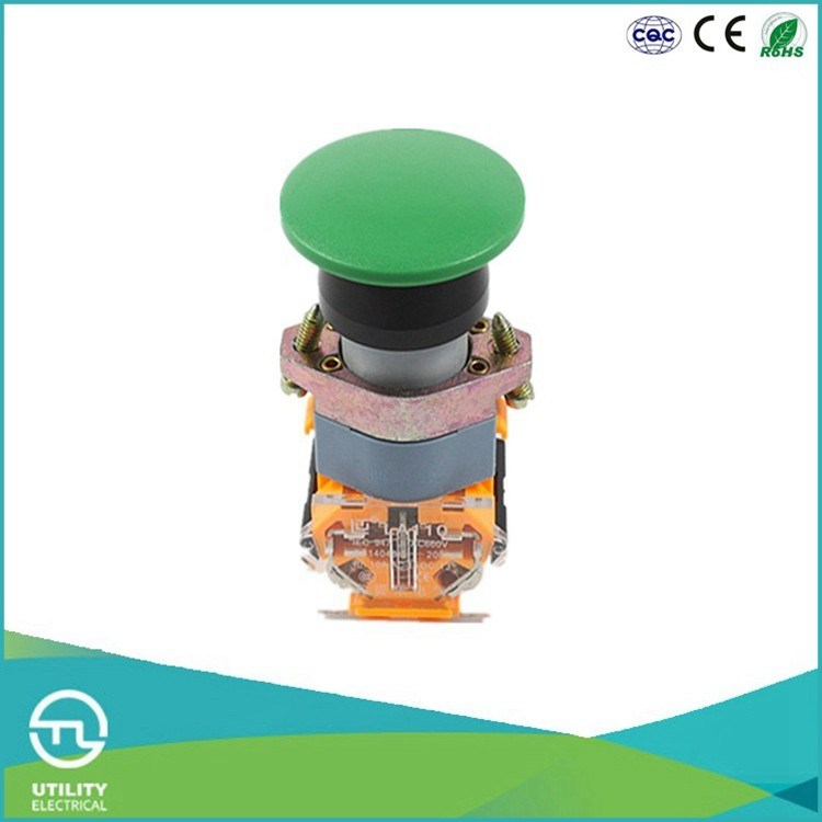 Utl A1 Series Mushroom-Shape Snap-Action Push-Button Switches