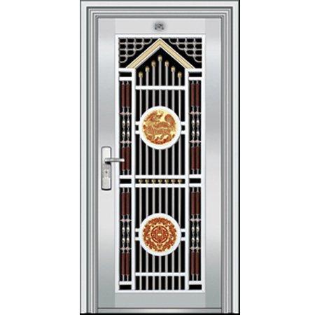 China Security Exterior Door YD 012 China Stainless Steel Door Door