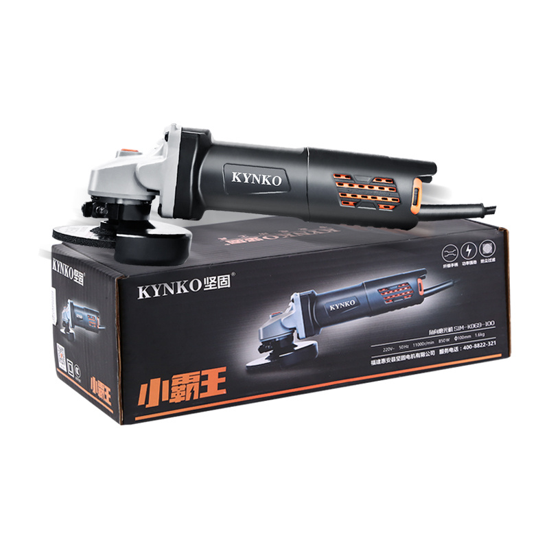 Kynko 900W 100mm Angle Grinder for Grinding Cutting Polished