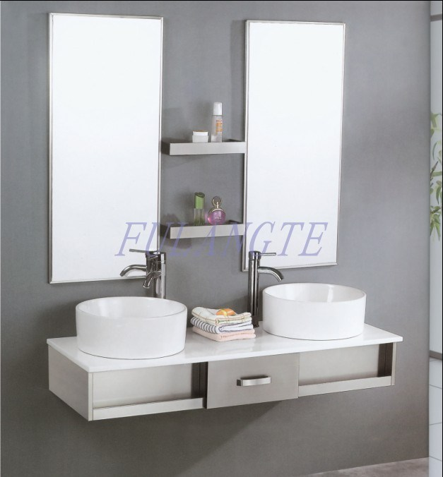 cabinet vanity 8095 china stainless steel bathroom cabinet