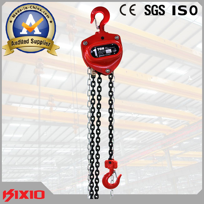 1t Lifting Tool Hand Hoist Chain Block