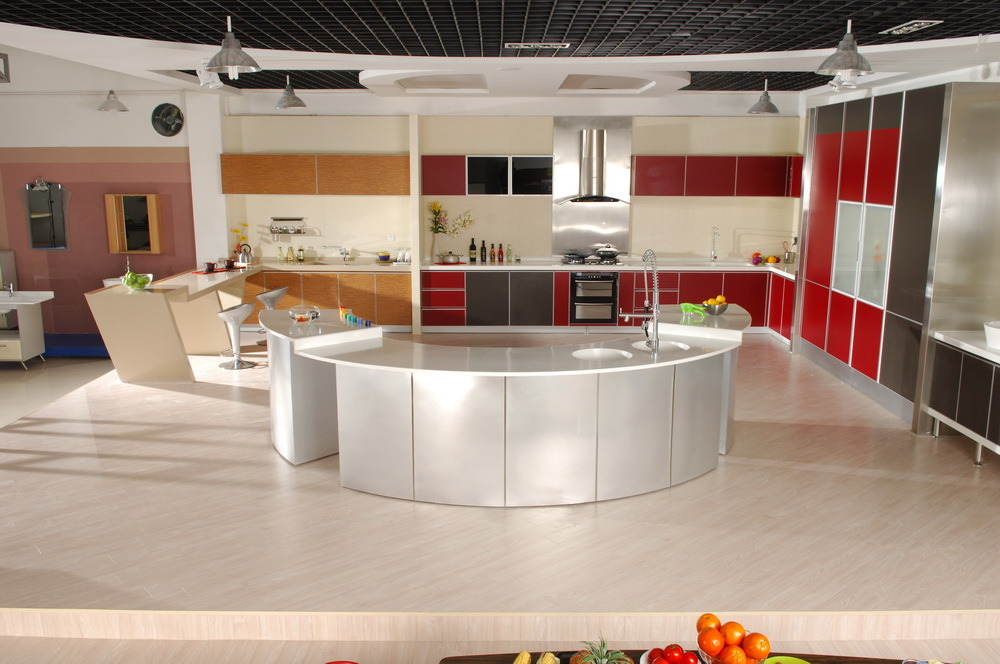 China prefabricated and readymade kitchen countertops for Readymade kitchen