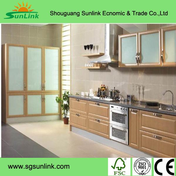 Fashion Design Wooden Closet Cabinet Bedroom Sliding Mirror Wardrobe Doors