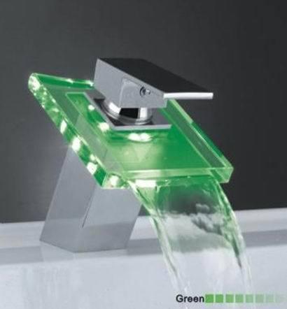 Led Faucet : China LED Faucet (HS LED 102) - China Led Faucet, Kitchen Faucet