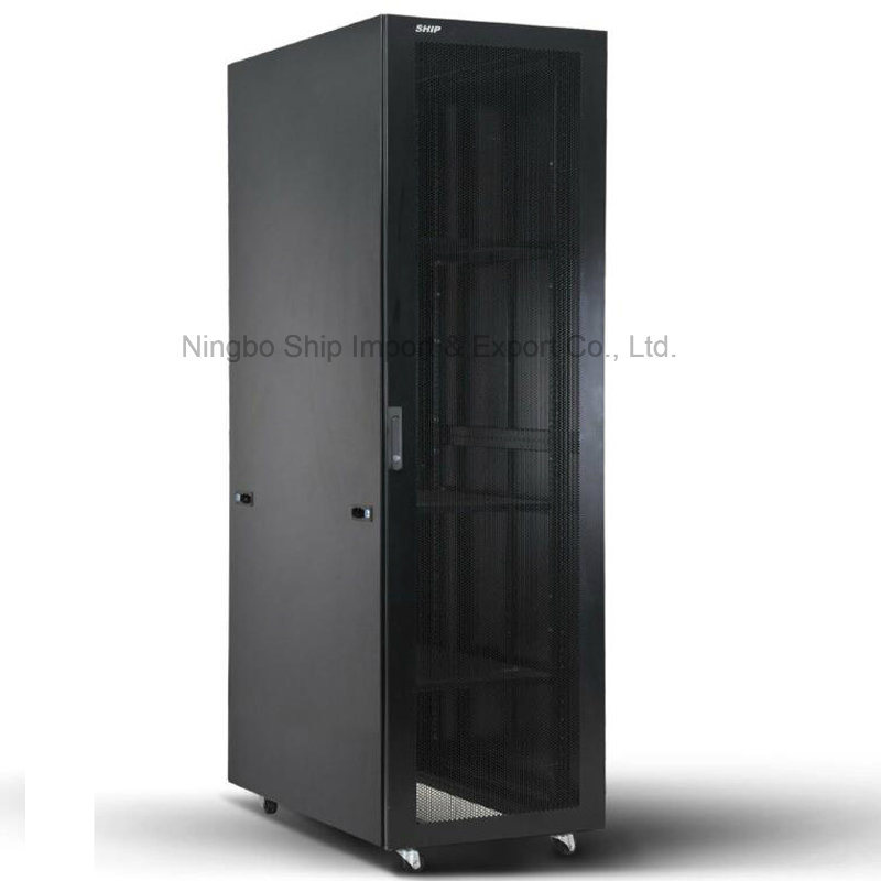 "Welded Frame Nine-Folded 19"" Server Cabinet"