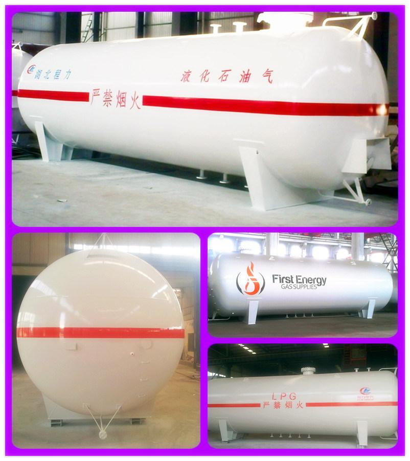 35, 000liters LPG Transportation Tank for Nigeria