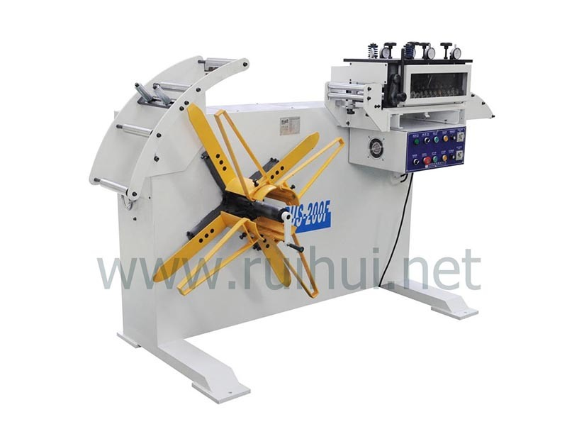 Automatic Machine Uncoiler and Precision Straightener of Hot Sales