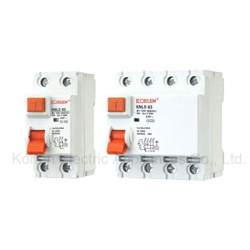 High Quality Residual Current Circuit Breaker Knl5-63 (ID)