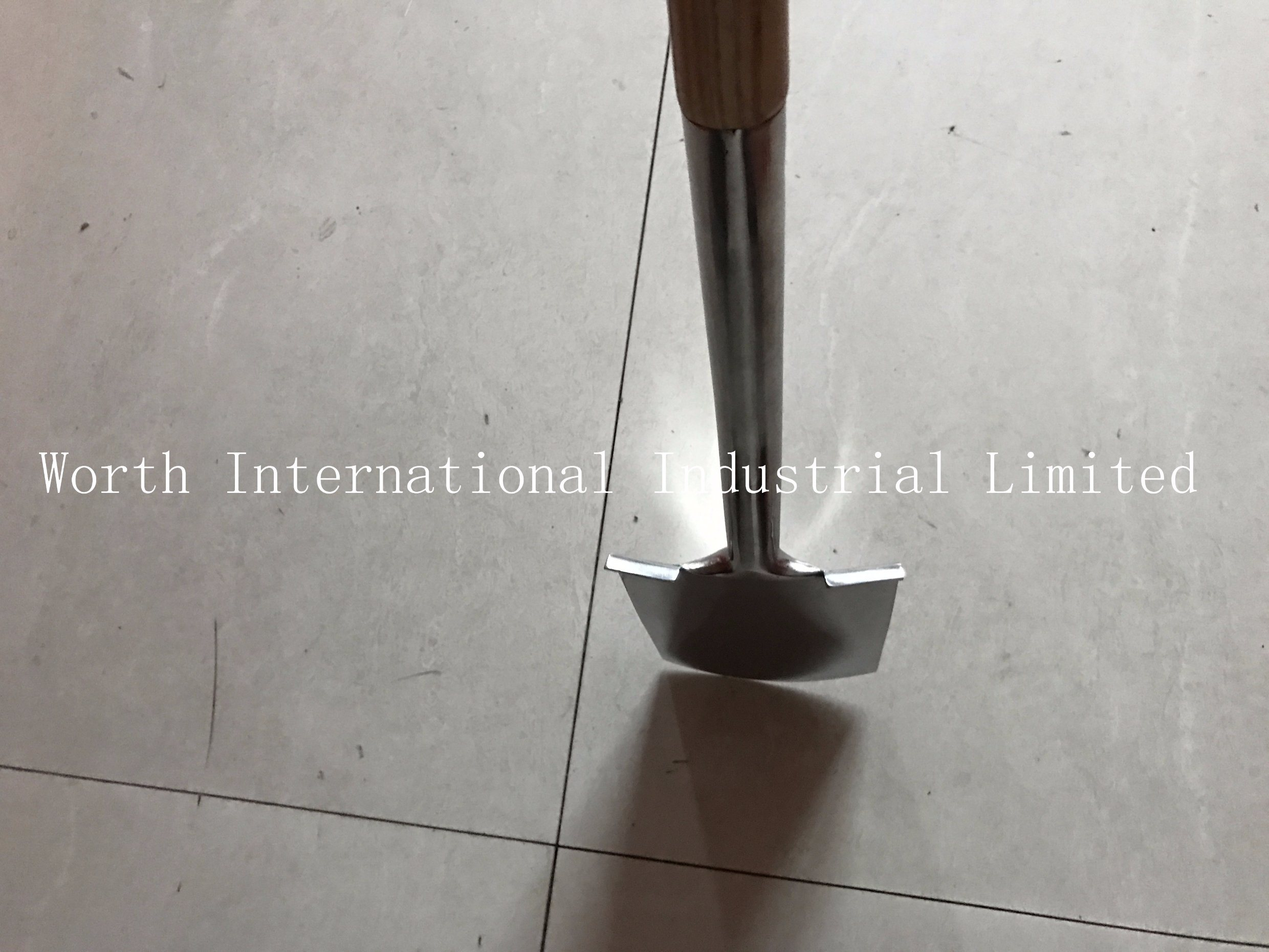 T Wood Handle Stainless Shovel