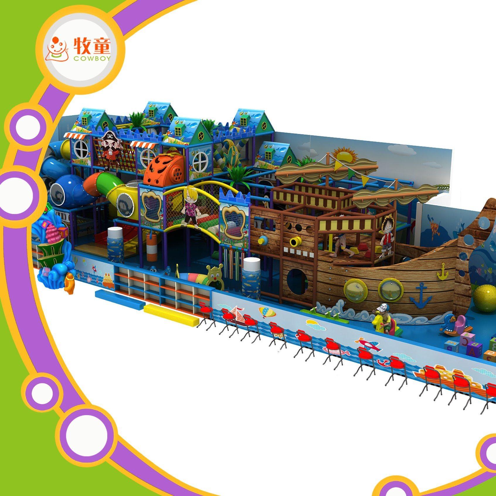 Pirateship Theme Indoor Playground for Sale