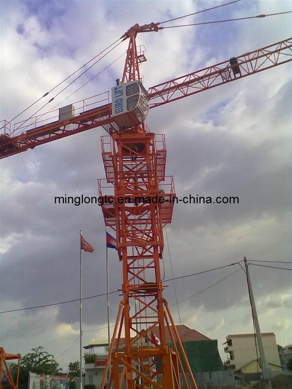 Tower Crane Qtz63 (TC5010) in Cambodia
