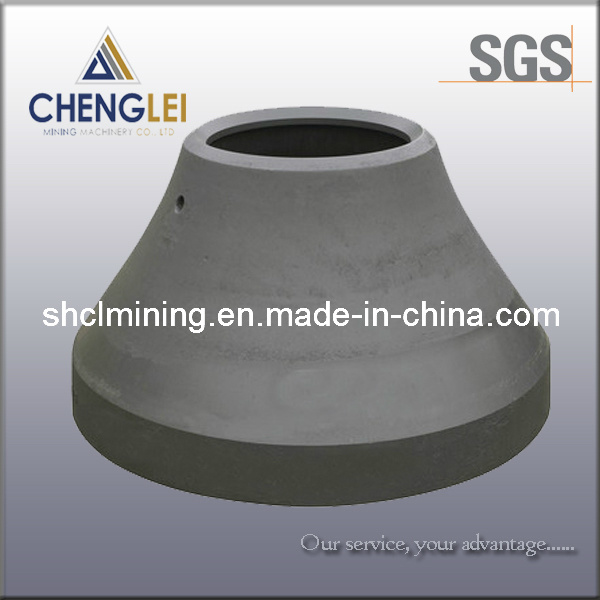 Crusher Parts for Metso Sandvik Pegson Cedarapids Cone Crusher Mantle, Concave, Bowl Liner