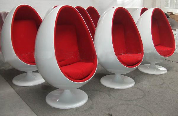 China egg pod chair china egg chair ball chair Egg pod ball chair