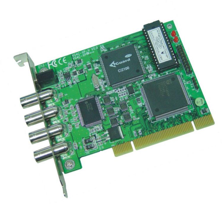 China DVR Card, Video Capture Card (VG4C-XP-V)