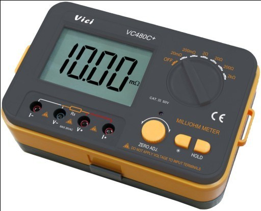 Infinite Resistance Ohmmeter : Ohmmeter digital reading