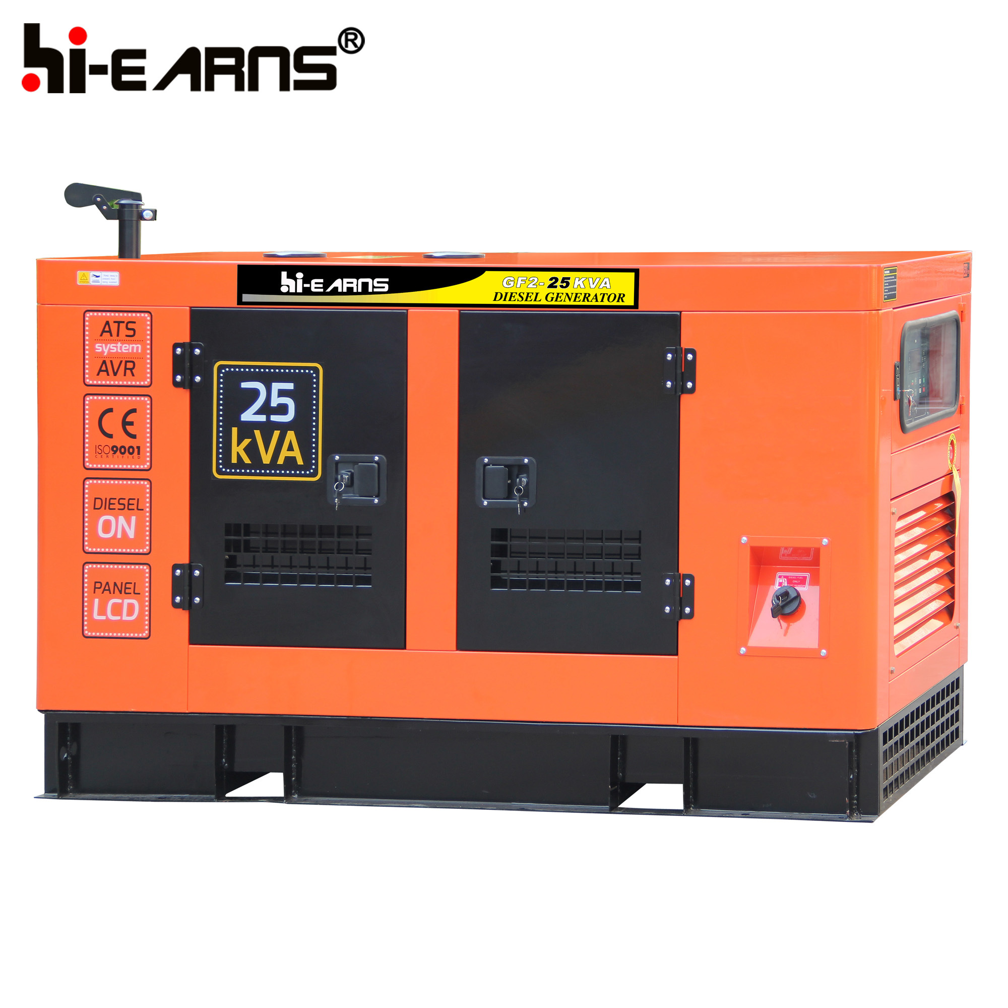 China Water Cooled Diesel Generator Set Old Canopy GF2 20KW