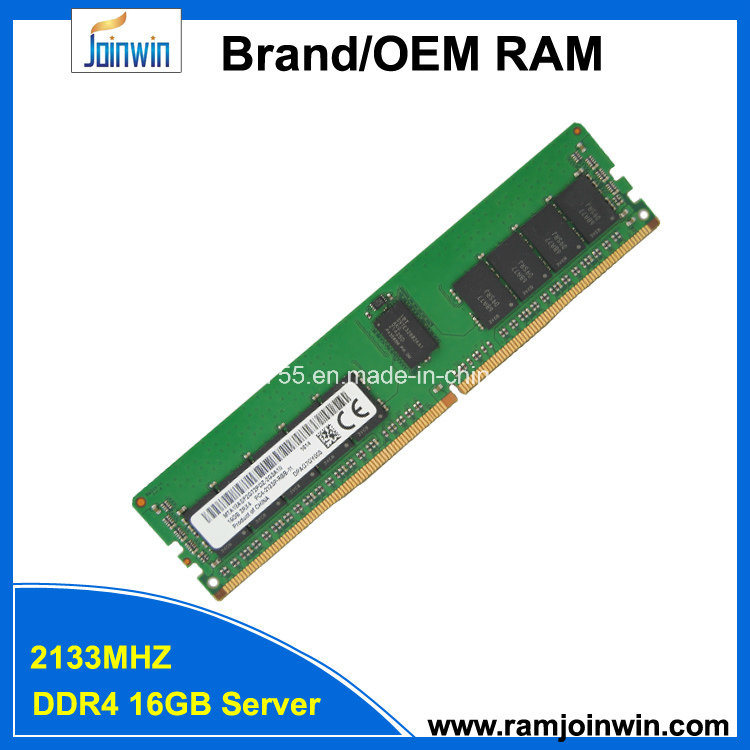 Reg Ecc 1.2V 2133MHz DDR4 16GB Server RAM Memory