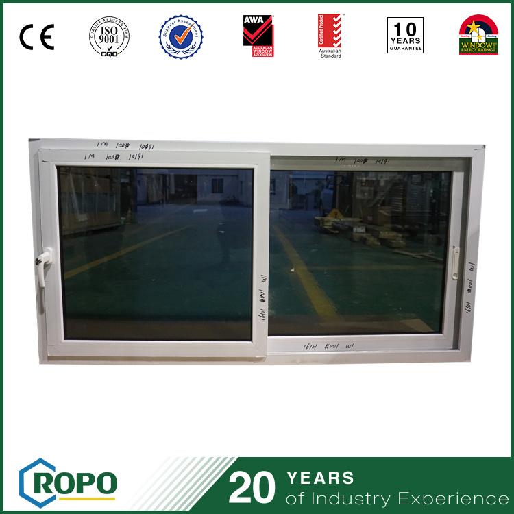 UPVC Window Image High Quality PVC Horizontal Sliding Windows